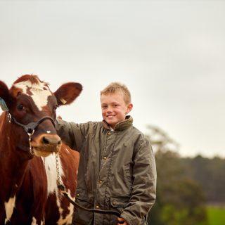 A Boy & His Cow